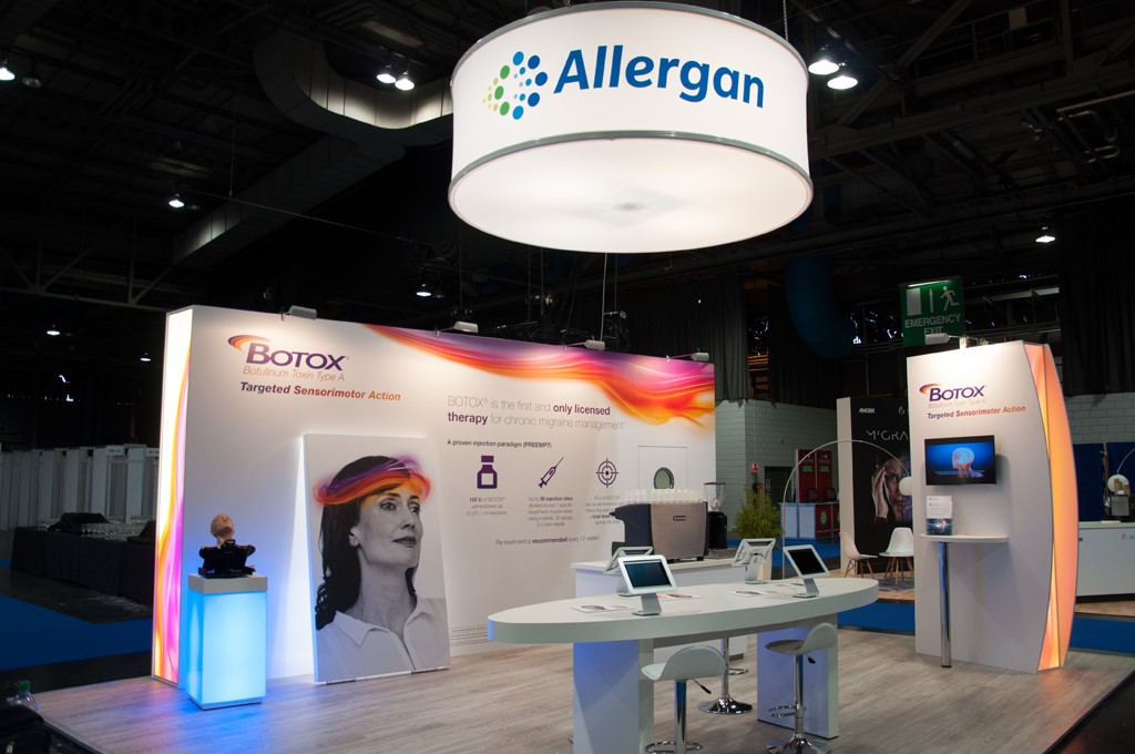 Creating Allergan's International Congress Exhibition