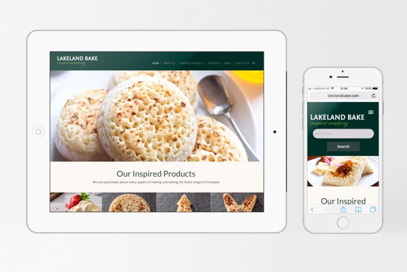 Lakeland Bake website re-design launches