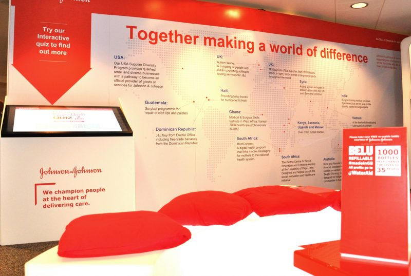 Johnson & Johnson attend Social Enterprise World Forum 2018